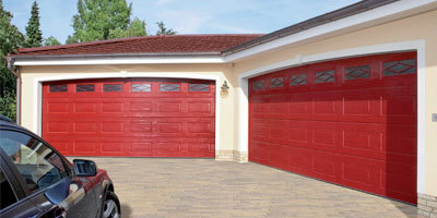 Teckentrup Georgian Garage Door Red Location Thumb
