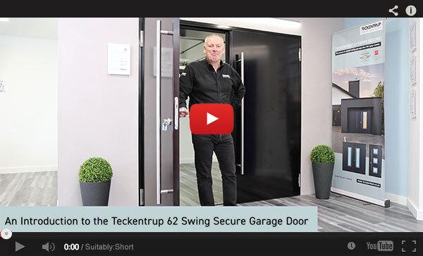 Teckentrup Tv An Introduction To The Teckentrup 62 Swing Secure Garage Door