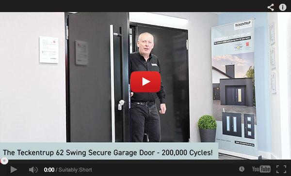 Teckentrup Tv The Teckentrup 62 Swing Secure Garage Door 200000 Cycles
