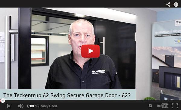 Teckentrup Tv The Teckentrup 62 Swing Secure Garage Door 62