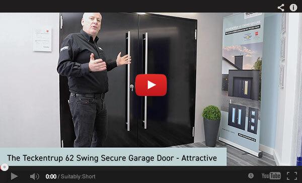 Teckentrup Tv The Teckentrup 62 Swing Secure Garage Door Attractive