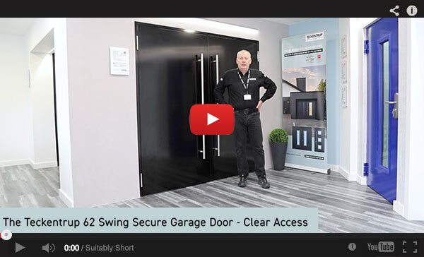 Teckentrup Tv The Teckentrup 62 Swing Secure Garage Door Clear Access