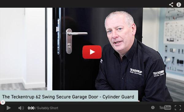 Teckentrup Tv The Teckentrup 62 Swing Secure Garage Door Cylinder Guard