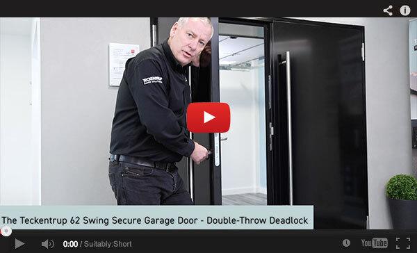 Teckentrup Tv The Teckentrup 62 Swing Secure Garage Door Double Throw Deadlock