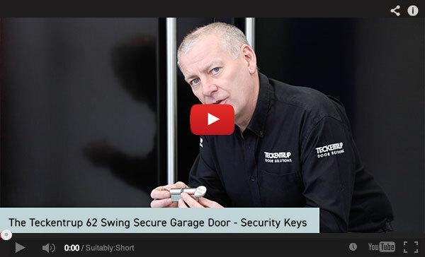 Teckentrup Tv The Teckentrup 62 Swing Secure Garage Door Security Keys
