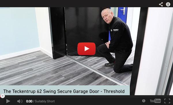 Teckentrup Tv The Teckentrup 62 Swing Secure Garage Door Threshold