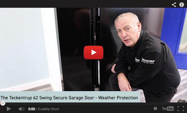 Teckentrup Tv The Teckentrup 62 Swing Secure Garage Door Weather Protection