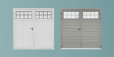 Teckentrup Traditional Carteck Side Hinged Garage Door Thumbnail