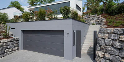 Turning The Humble Garage Door Into An Eye Catcher