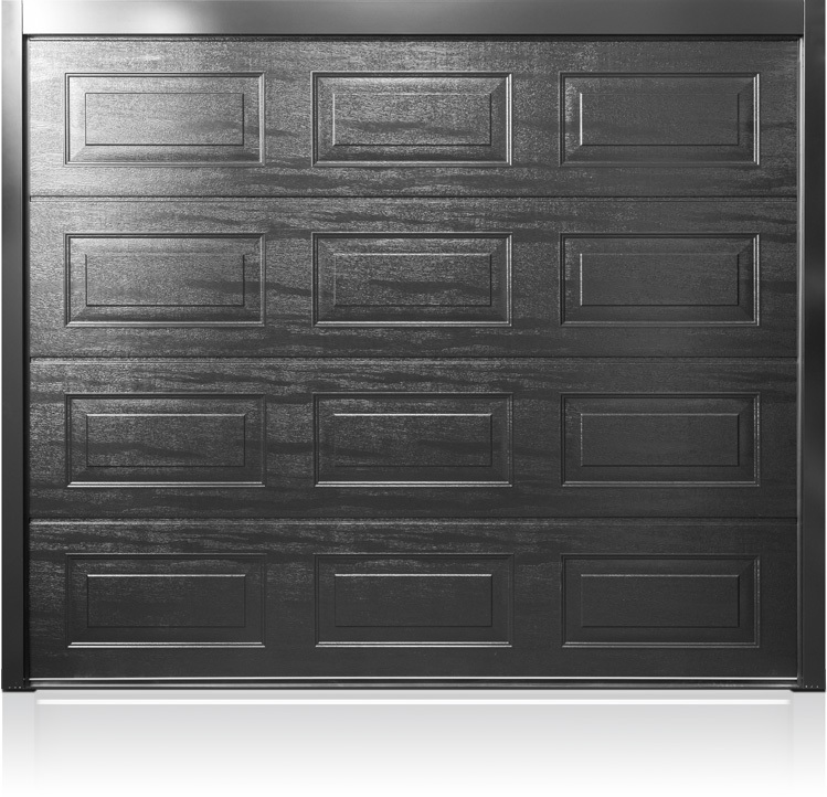 CarTeck Georgian Wood Grain Effect Jet Black RAL 9005