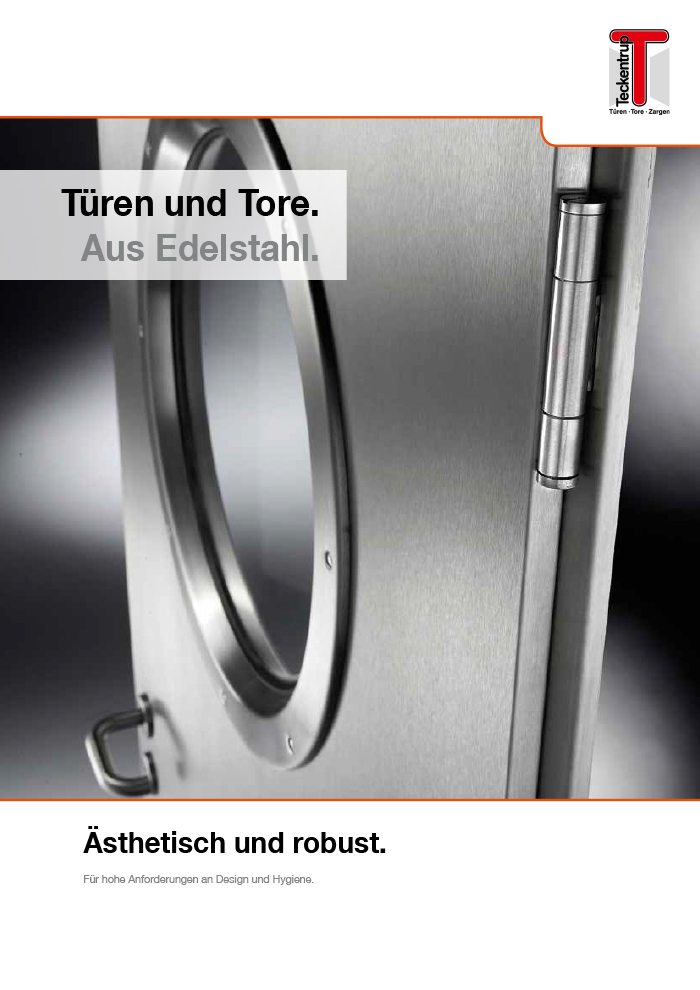 Stainless Steel (Brochure) cover