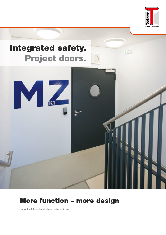 "Steel Smoke-Proof Door ""RS-2"" (Brochure) cover"
