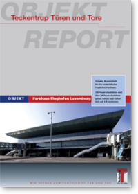 Luxemburg Airport Car Park cover