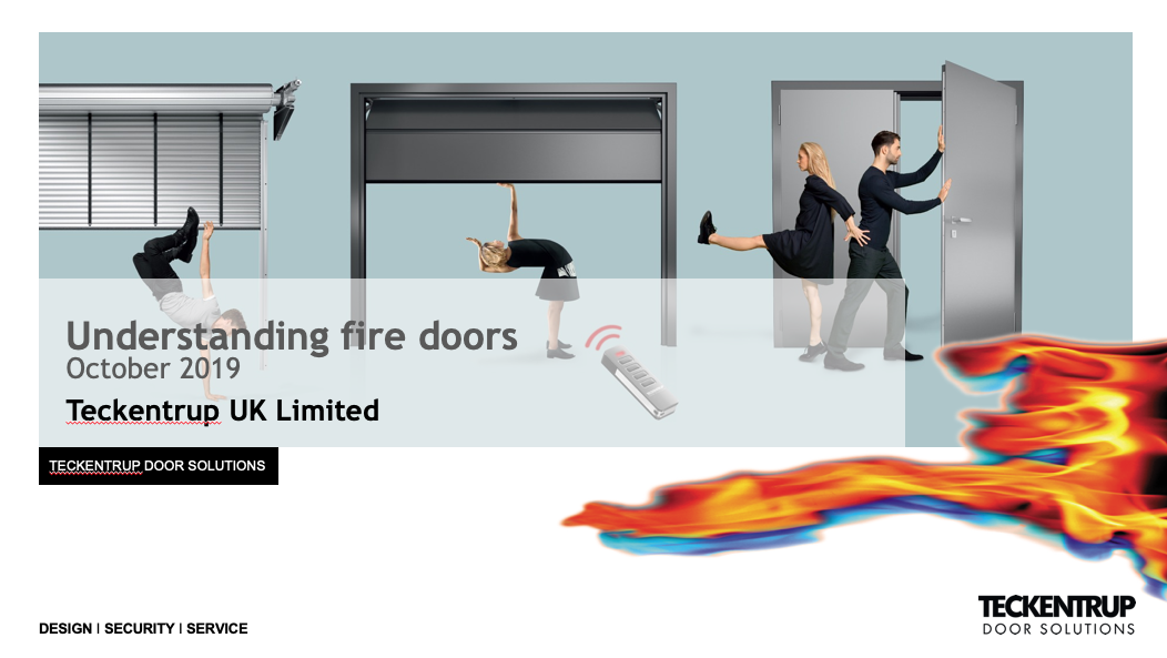 Teckentrup, the company and understanding fire doors cover