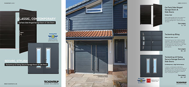 Side Hinged Garage Doors (Brochure) cover