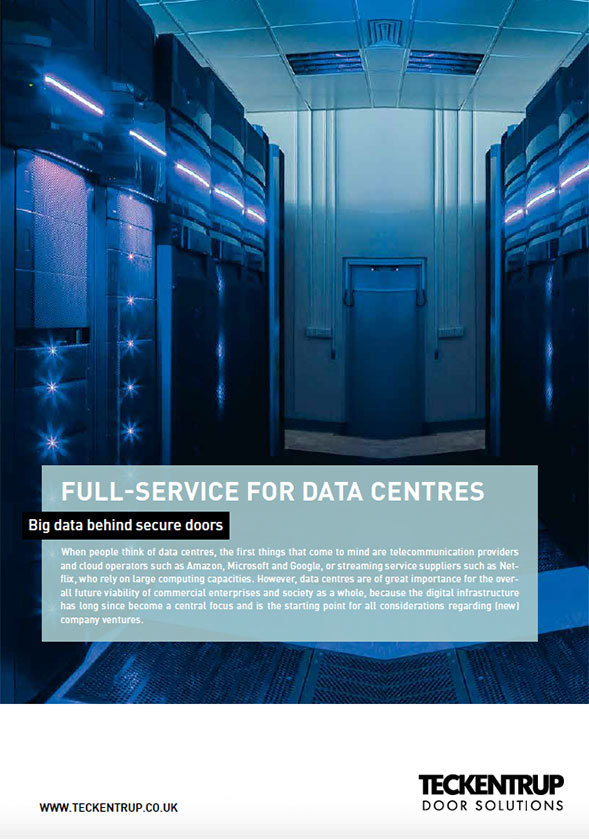 Teckentrup - Data Centre Expertise Case Study  cover
