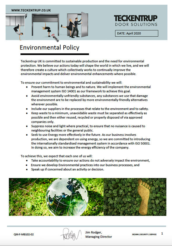QM-F-MB102-02_Environmental Policy April 2020 cover