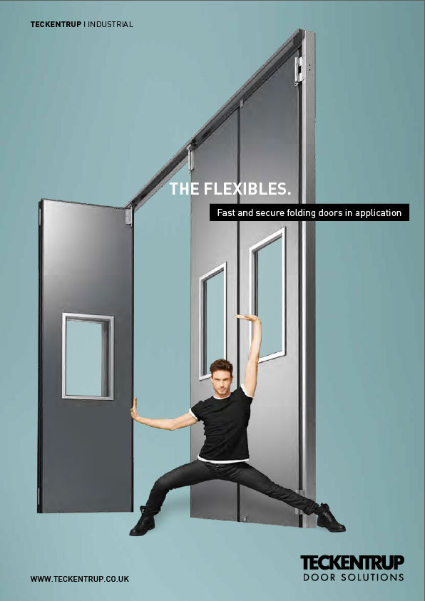 Teckentrup Insulated Sliding Folding Doors Manual and Powered (Brochure) cover