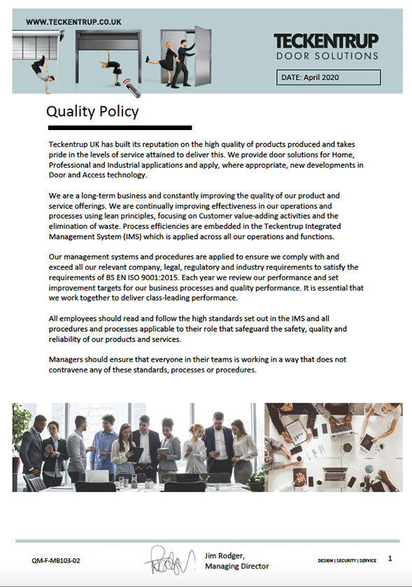 QM-F-MB103-02_Quality Policy April 2020 cover