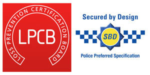 Loss Prevention Certification Board and Secured by Design