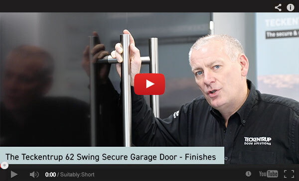 Teckentrup Tv The Teckentrup 62 Swing Secure Garage Door Finishes