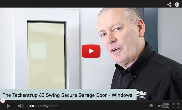 Teckentrup Tv The Teckentrup 62 Swing Secure Garage Door Windows