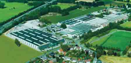 The factory at Verl, Germany