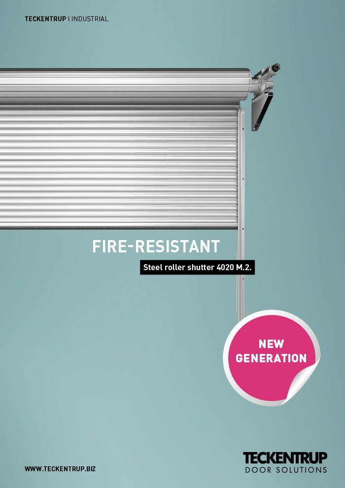 Steel Roller Shutter Fire Doors 4020 M (Brochure) cover