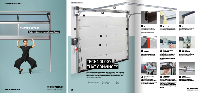 Industrial Sectional Brochure Spreads