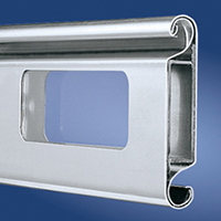 Aluminium ThermoTeck Profile 4020 with glazing