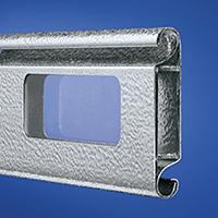 Aluminium ThermoTeck Profile 4020 Stucco with glazing