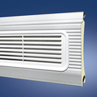 Steel ThermoTeck Profile with ventillation grille