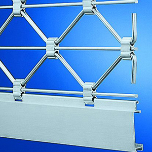 Aluminium Roller Grille ThermoTeck Profile TG-X Easy