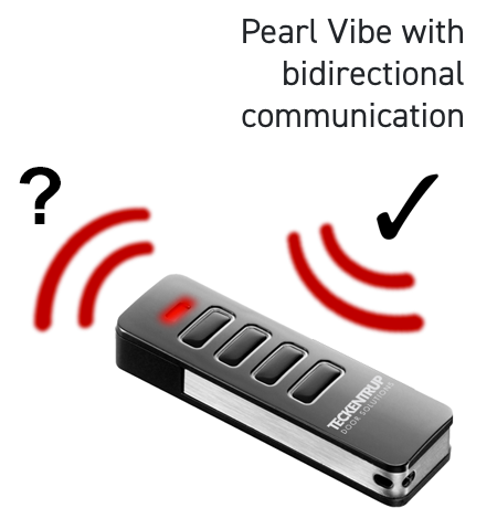 Pearl Vibe with bidirectional communication