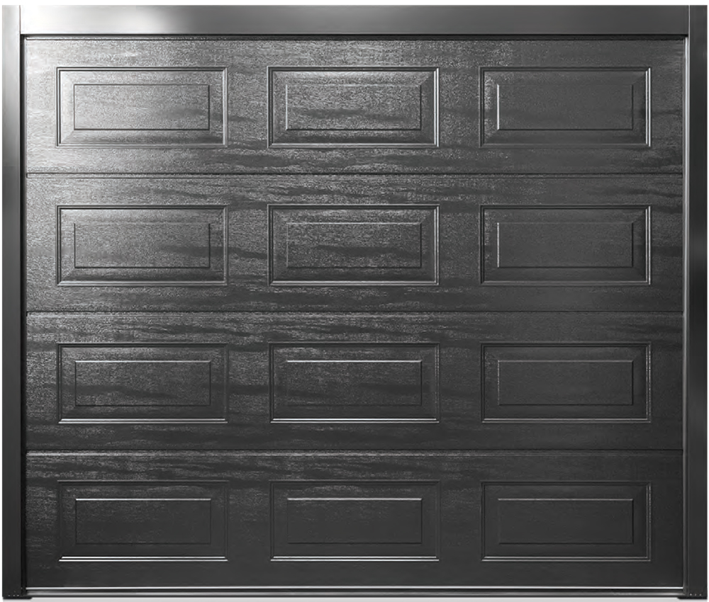 Carteck Georgian Woodgrain Jet Black Ral 9005