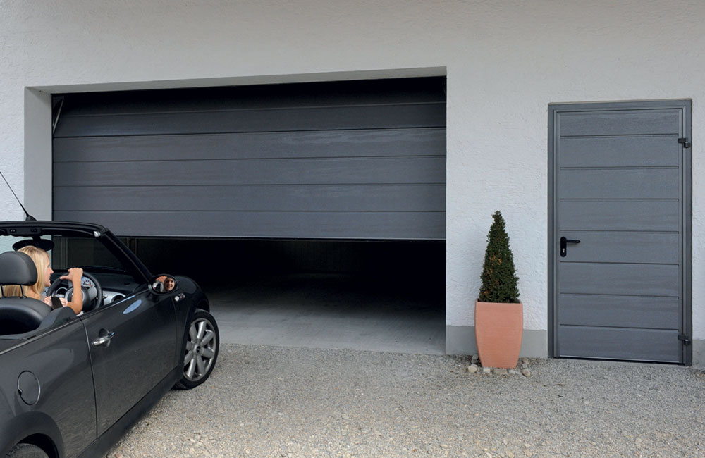Carteck Garage Doors Automatic Sectional Garage Doors