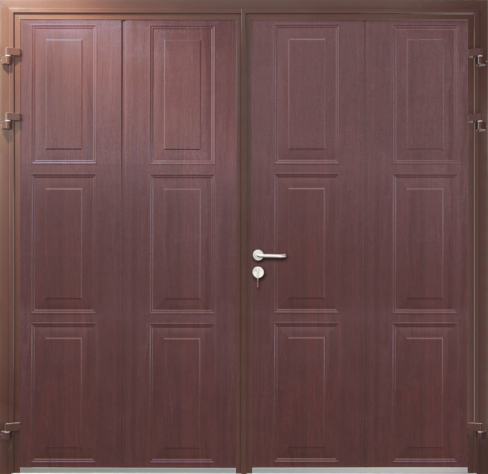 CarTeck Side Hinged Georgian Vertical in Rosewood Smooth Finish