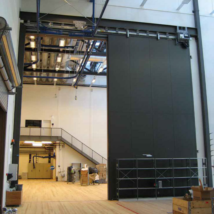 Large Sliding Fire Doors