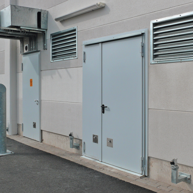 High Performance Insulated Steel Doorsets