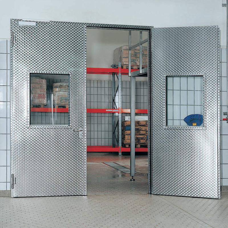 Stainless Steel Door Access Doors With Large Vision Panels