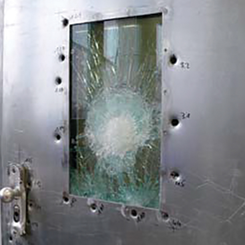 Steel Security Doors Ballistics Testing